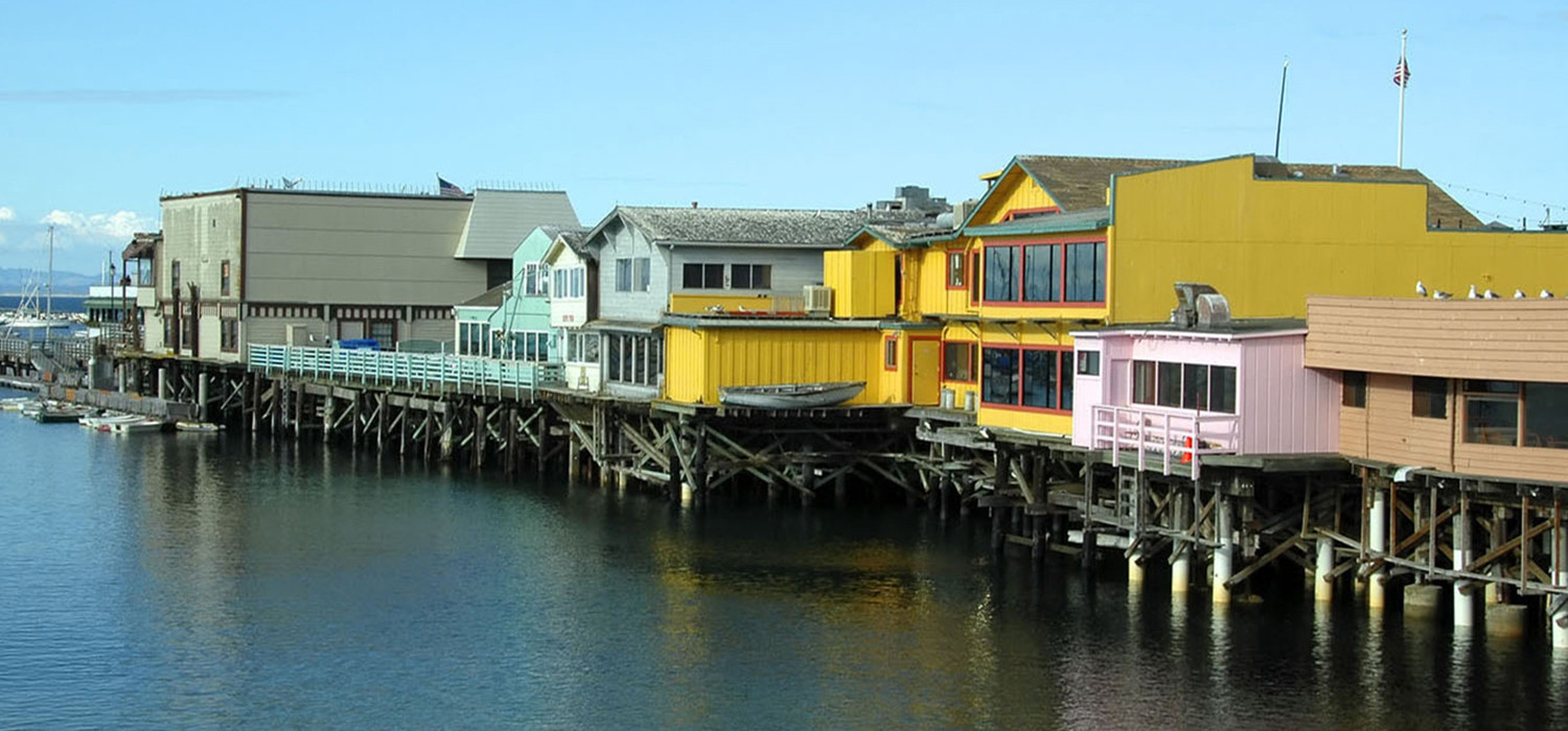 EXCITING MONTEREY AREA ATTRACTIONS ARE MINUTES AWAY