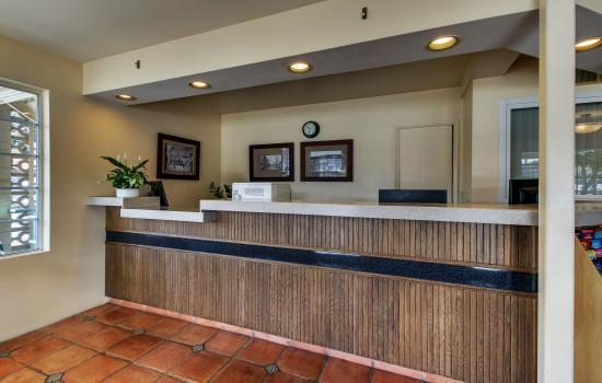 The Stevenson Monterey - Front Desk