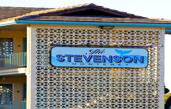 The Stevenson Monterey - Stevenson Monterey Sign